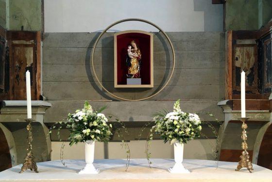 Panna Marie Věrná v Ostrově - třetí kopie
