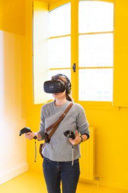 Immersion à l'aide de la Réalité virtuelle