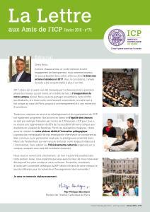 ICP lettre aux amis février 2018