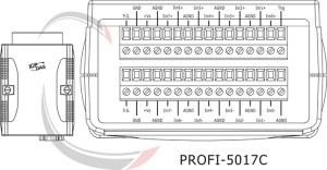 PROFI5017C   PROFIBUS Remote IO Module with 8Channel