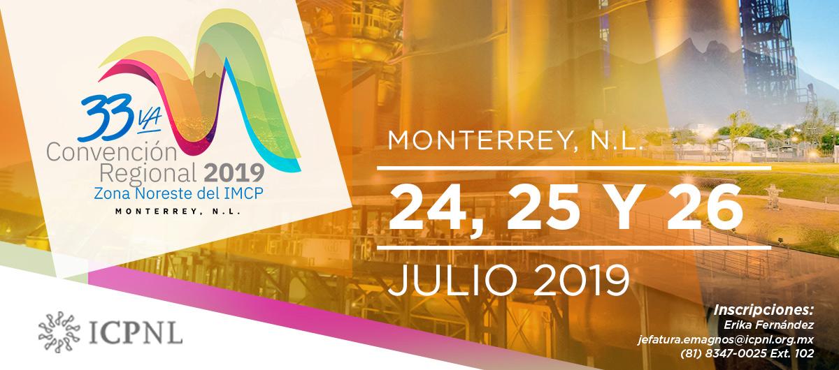 Banner web Convención Regional 2019