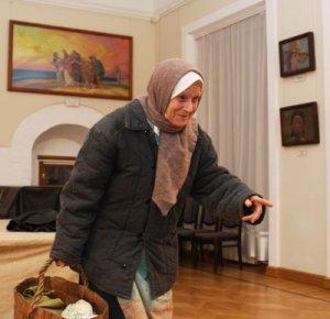 Н.Н. Добрикова. Сцена из спектакля
