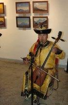 Национальная музыка и горловое пение на открытии выставки «Н.К. Рерих и Монголия»