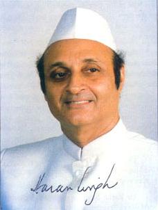 Президент Индийского Совета по Культурным Связям доктор Каран Сингх