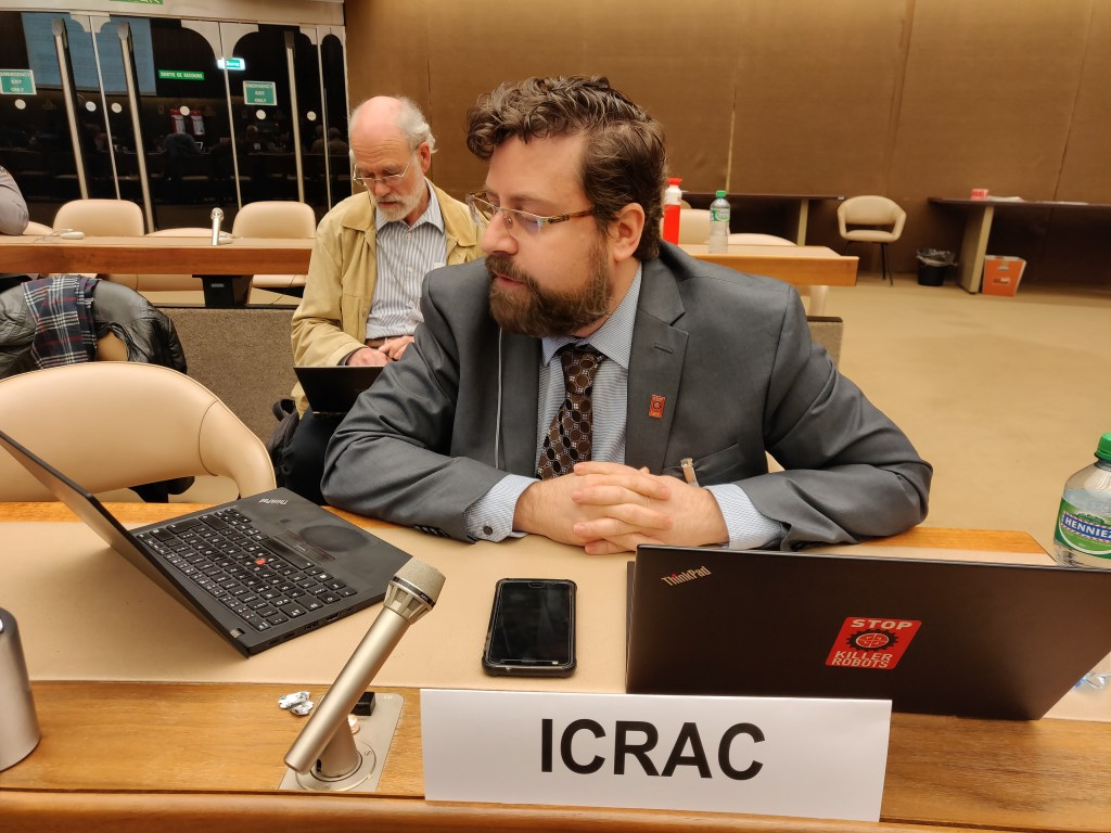 ICRAC statement at the March 2019 CCW GGE