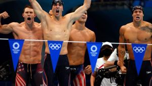 Caeleb Dressel's Olympics can be summed up in one word: Brilliance