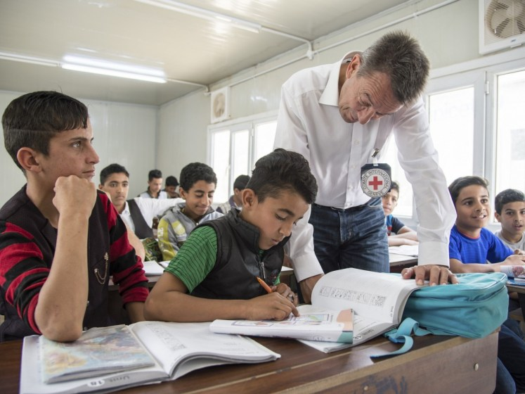 Q&A: ICRC and access to education | International Committee of the Red Cross