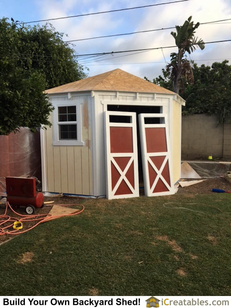 Backyard Shed Plans