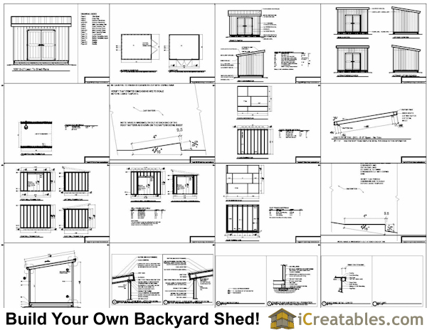Materials Needed Build Shed