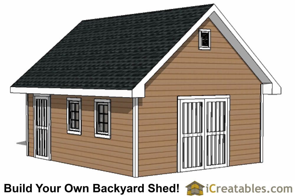 Shed Building Ideas