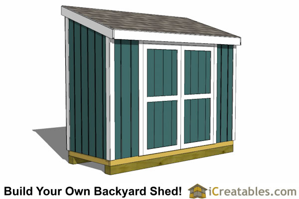 4x10 Shed Plans 4x10 Storage Shed Plans