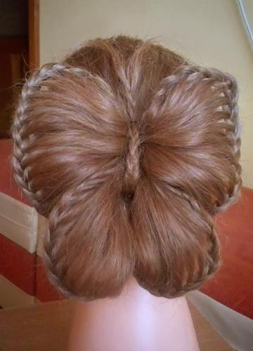 How To DIY Butterfly Braid Hairstyle