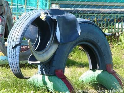 40 Creative DIY Ideas To Repurpose Old Tire Into Animal
