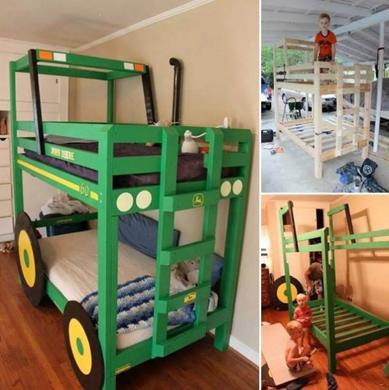Creative Ideas Diy Camp Loft Bed With Stairs I