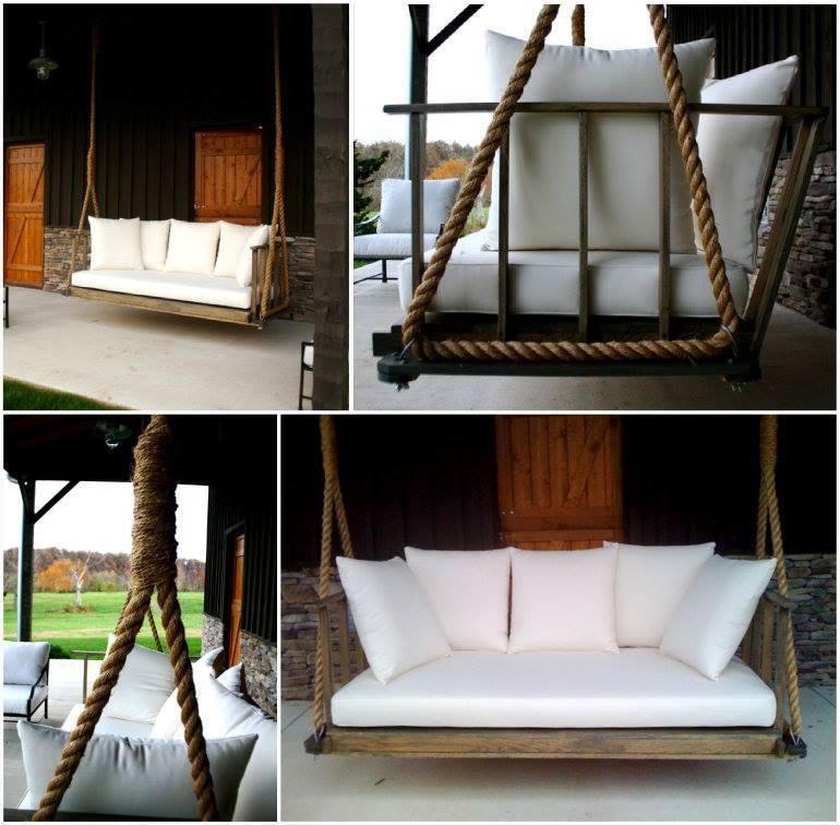 Porch Swing Pergola