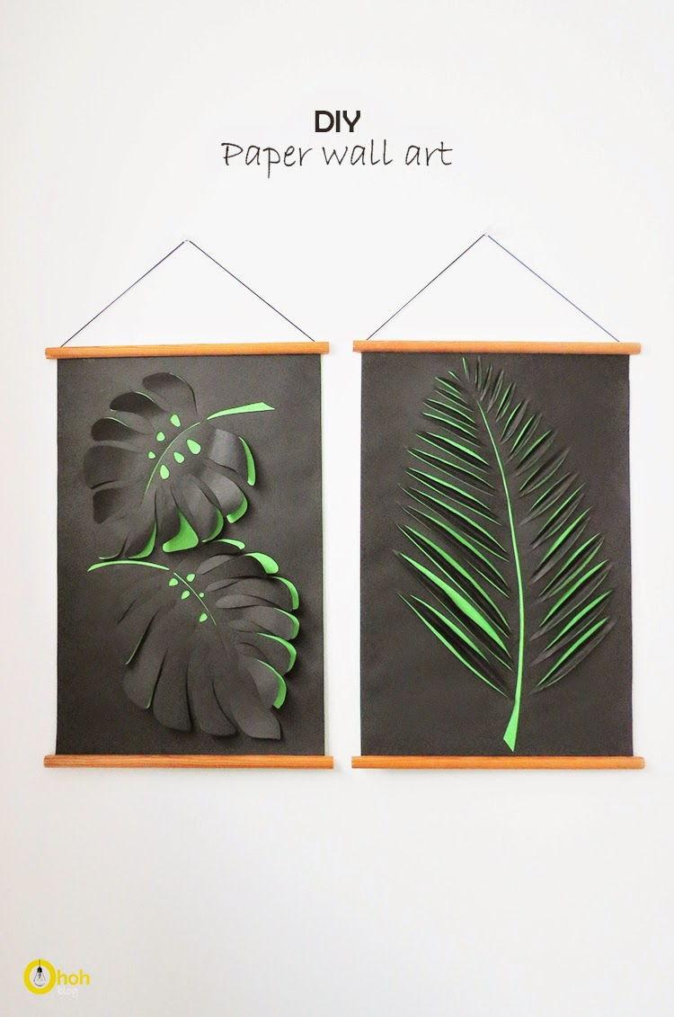 Paper Art Wall Decoration
