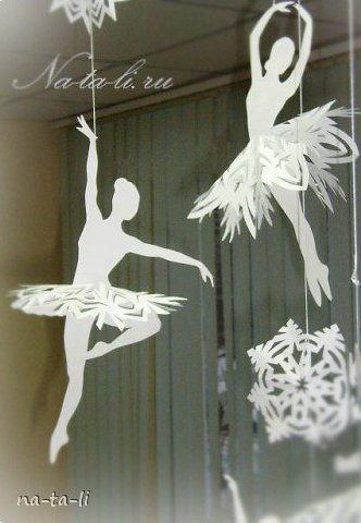 Creative Ideas DIY Beautiful Snowflake Ballerinas From