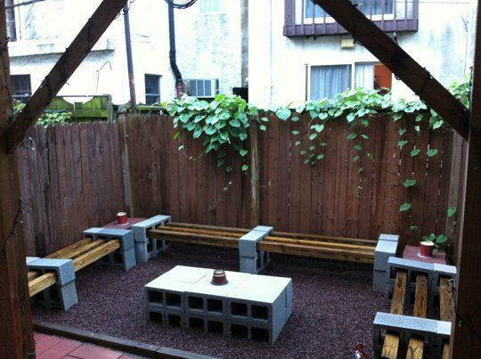 20 Creative Uses Of Concrete Blocks In Your Home And Garden