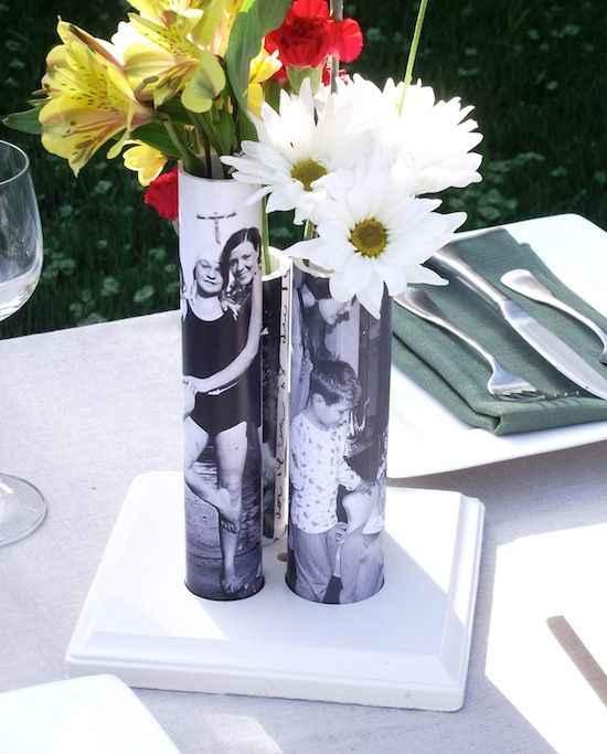 30+ Creative Uses of PVC Pipes in Your Home and Garden --> DIY Vase from a PVC Pipe