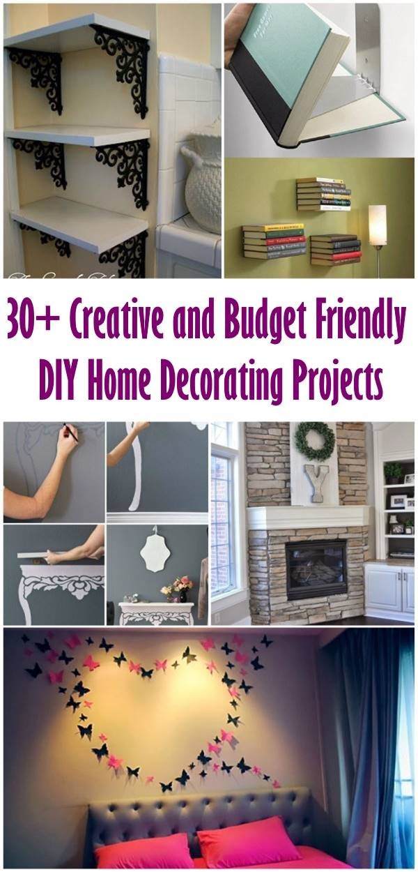 30 Creative And Budget Friendly Diy Home Decorating