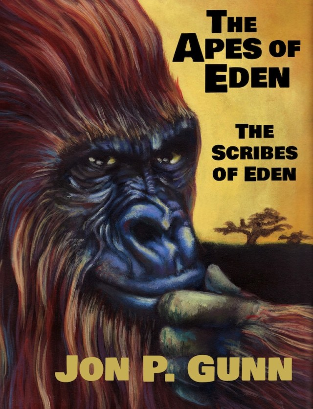 The Apes of Eden - The Scribes of Eden by Jon P. Gunn Image
