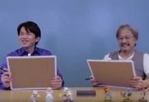 Yoshiaki Koizumi e Eiji Aonuma