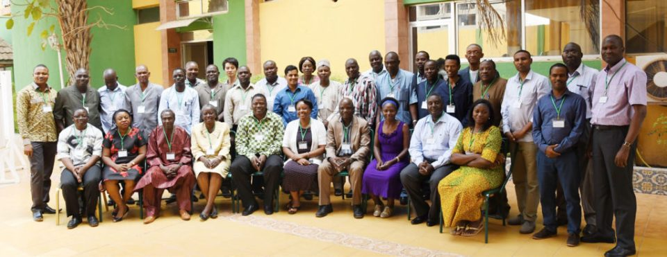 HOPE Project Annual review and planning meeting participants. Photo: A Diama, ICRISAT
