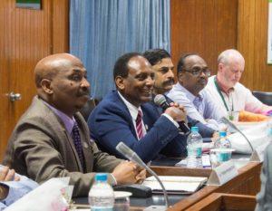 HE Mr. Tesfaye Mengiste Dori, HE Eyasu Abraha Alle, Dr. G Malsur, Mr. K. Suresh and Dr. Anthony Whitbread.jpg