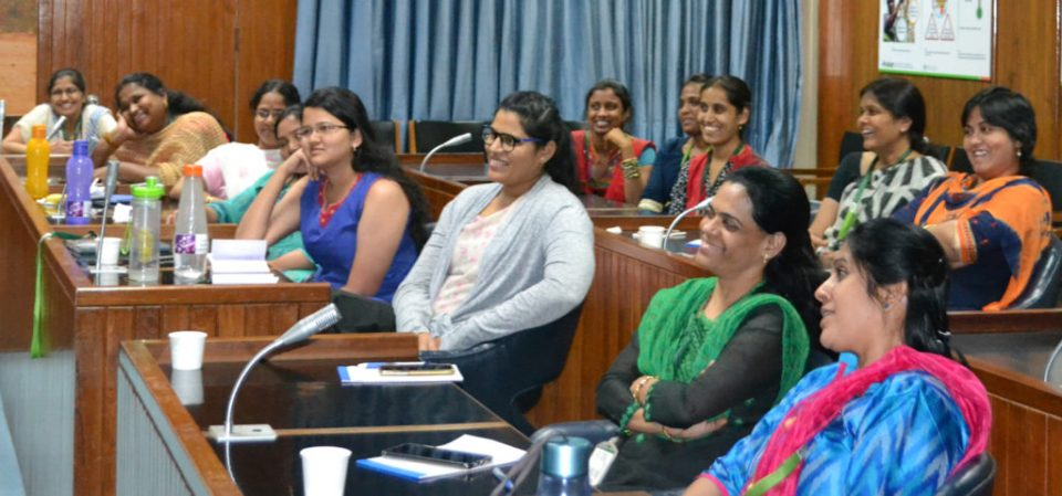 Participants at the 'How Can I?' workshop. Photo: G Shashikanth