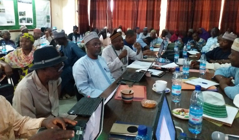 Participants at the meeting in Kano, Nigeria Photo: L. Omoigui