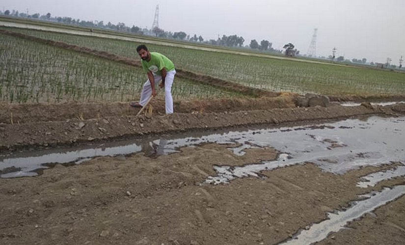 Harsimranjit Brar, from a farming family in Sri Muktsar Sahib, Punjab, feels that farmers need more technical know-how on climate relevant to their situation. State-wise or regional advisories ignore the fact that the characteristics of land differ from area to area. Image Courtesy: Harsimranjit Brar