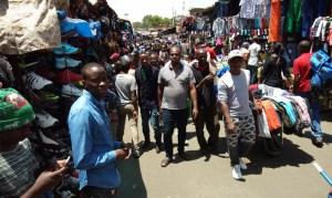 Street market, Majengo, Nairobi