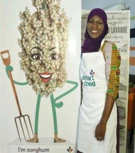 Culinary blogger Dienaba Traore. Photo: www.gabougouni.com