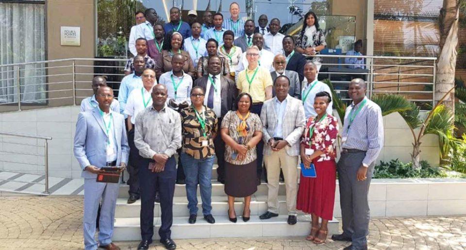 The CNG Sorghum and Millet team at Nairobi, Kenya, on 26 March 2019.  Photo: E Manyasa, ICRISAT