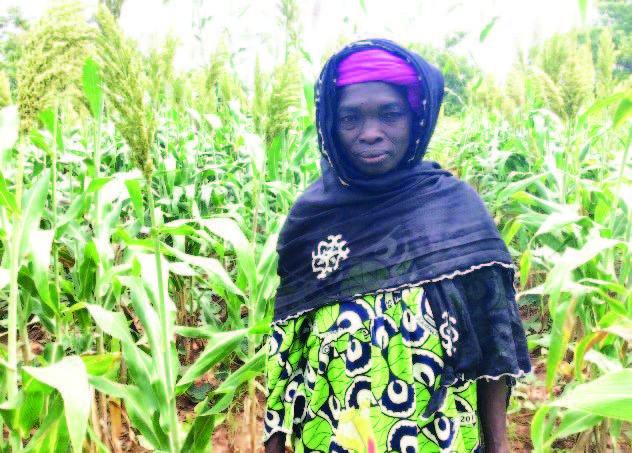 Pilot farmer Afou Ouattara Photo:CRS