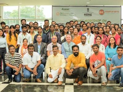 Participants of the worksPhoto: Srivalli, ICRISAThop.