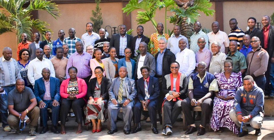 Participants at the AVISA National Planning and Stakeholders Engagement Meeting for Tanzania Groundnut and Sorghum Programs. Photo: W Grace, ICRISAT