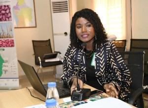 Ms Agathe Diama, Head, Regional Information, ICRISAT-WCA.