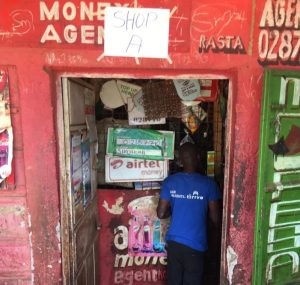 One of the test shops where people redeem their food vouchers, Nairobi, 12 April 2020 (Photo Credit: Billian Ojiwa; Cover picture: Gerald Anderson)