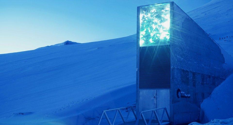The Global Seed Vault in Svalbard. Photo: NordGen