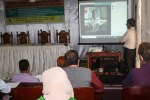 Training session at Bangladesh Agriculture Research Institute (BARI), Jamalpur. Photo: BARI