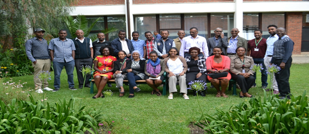Participants at the stakeholders' feedback meet. Photo: ICRISAT