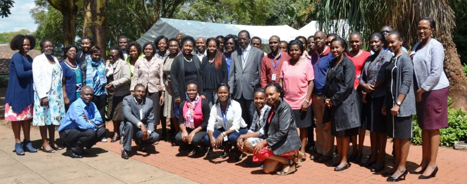 Nutritionists and Behaviour Change Communications Specialists at an AVCD Nutrition Strategy Workshop in Kenya. Photo: S.Mungai (ILRI)