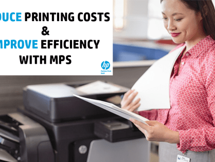Reduce Printing Costs & Improve Efficiency With Managed Print Services