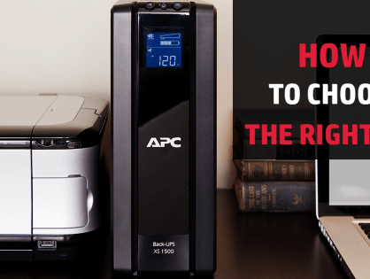 How To Choose The Right UPS
