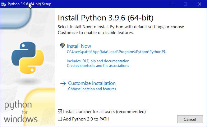 Python installation-step-1
