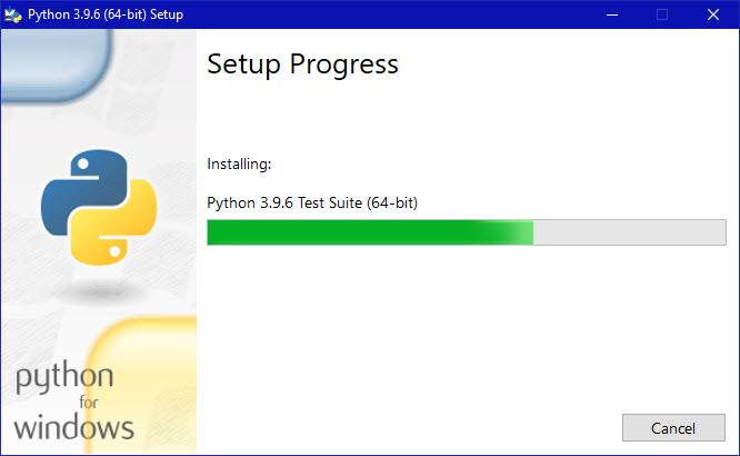 Python installation-step-2