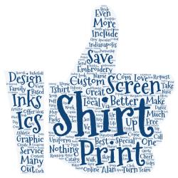 ICS Inks Screen Printing Tag Cloud