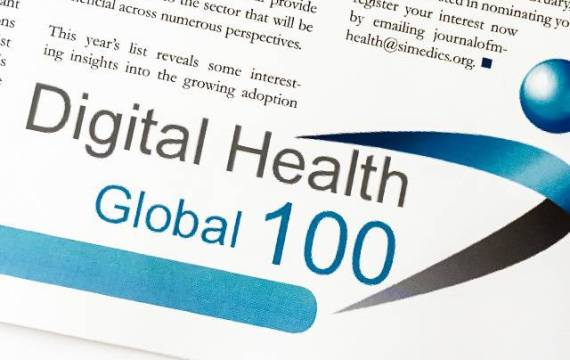 The Journal of mHealth Selects eDevice for the Global Digital Health 100