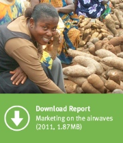 Download Report #2:  Marketing on the airwaves